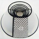 5ivepets Elizabeth Collier de cicatrisation pour animaux Collier anti-morsures pour chien/chat/animal domestique, disponible en 7 tailles de la marque 5ivepets image 2 produit