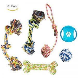 Adogo pour animal domestique à mâcher durable Toys-cotton Cordes pour chiens (lot de 6) de la marque Adogo image 0 produit