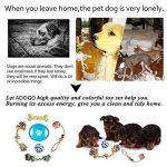 Adogo pour animal domestique à mâcher durable Toys-cotton Cordes pour chiens (lot de 6) de la marque Adogo image 5 produit