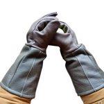 Animal De Compagnie Gants Anti-Morsures Anti-Rayures Anti-Piercing Résistant À L'usure Épaissir Gants De Travail Chiens D'entrainement Manucure Hôpital Vétérinaire Protecteur De La Faune Peau De Vache de la marque JZDCSCDNS image 1 produit