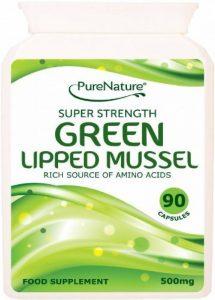 Aréoles vert moules de Nouvelle-Zélande aide à soulager les douleurs articulaires associées à l'arthrite et les capsules de 90 de la marque PureNature image 0 produit