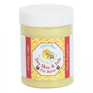 Baume Démangeaison Peau Sèche Chien & Mange 100% Naturel pour Chiens & Chats de la marque Ultra Bee image 0 produit