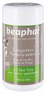 Beaphar - Lingettes nettoyantes pattes, pelage, yeux et oreilles - chien et chat - 100 lingettes de la marque Beaphar image 0 produit