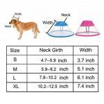 Collerette de rétablissement pour chiens et chats Mogoko - Collier transparent, avec contour mou pour permettre de respirer de la marque Mogoko image 2 produit