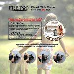 """Collier Antiparasitaire pour Chiens chat – 23"""" Fits Collier Anti Puce Tique for Grande Petit Moyen Animal de la marque FRETOD image 6 produit"""