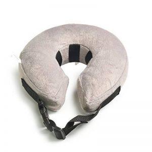 Collier Gonflable De Rétablissement d'Animal Familier-Collier Protecteur Doux Pour Les Chiens Chats(Petit, Gris) de la marque AMZTM image 0 produit