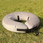Collier Gonflable De Rétablissement d'Animal Familier-Collier Protecteur Doux Pour Les Chiens (Moven, Gris) de la marque AMZTM image 4 produit