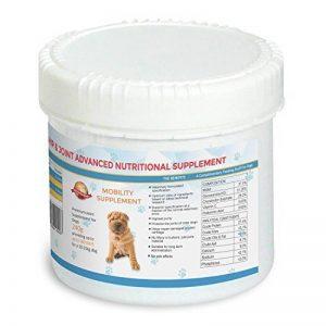 Complément alimentaire articulation pour chien–180jours pour un chien 10–25kg | veterinärformulierte Prime Complément, soulager les douleurs articulaires et améliore la mobilité | Glucosamine Chondroïtine MSM, ajout l'arthrite pour soulager les chiens image 0 produit