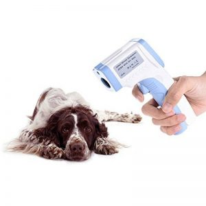 Decdeal Digital pour animal domestique Thermomètre infrarouge sans contact Thermomètre vétérinaire pour chiens chats Chevaux et autres animaux de la marque Decdeal image 0 produit