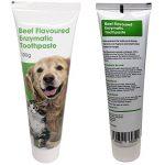 Dentifrice enzymatique pour chien et 3 brosses à dents - Kit de soins dentaires pour chiens et chats de la marque Petstoreo image 2 produit