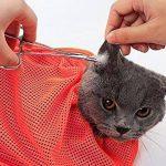 FACAIG Cat sac pansage le règlage d'ongle réglable sac propre baignoire Mesh Bag de la marque FACAIG image 4 produit