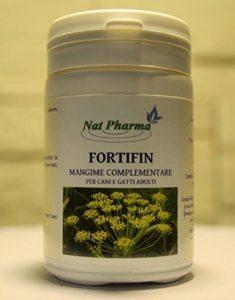 FORTIFIN 20 GR - (formule en poudre) Digestif naturel, combats flatulence et mauvaise haleine pour chiens et chats - Réduit les ballonnements chez les animaux - Traitement à base de plantes vétérinaire qui favorise le tractus gastro-intestinal, élimine le image 0 produit