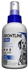 Frontline Spray - Anti-puces et anti-tiques pour chien et chat - 100ml de la marque FRONTLINE image 0 produit