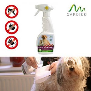 Gardigo - All in One Spray Anti-Puces, Tiques et Poux; Diffuseur Antiparasitaire, Insecticide pour Animaux Domestiques Chat Chien; 500 ml - BIO de la marque Gardigo image 0 produit