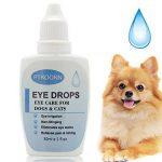 Gouttes pour les yeux pour chien,Gouttes Oculaires,Nettoyant pour Yeux pour Chien,soin des yeux - chien et chat Nettoyant yeux chiot,30ml de la marque image 1 produit