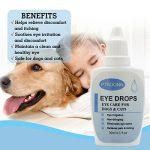 Gouttes pour les yeux pour chien,Gouttes Oculaires,Nettoyant pour Yeux pour Chien,soin des yeux - chien et chat Nettoyant yeux chiot,30ml de la marque PTKOONN image 5 produit