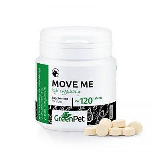 GreenPet Articulations Move Me 120 Comprimés pour Chien, Contient de la Glucosamine et de la Chondroïtine, Supplément Articulaire de la marque GreenPet image 0 produit