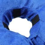 Gzq gonflable Collier de chien confortable gonflable pour animal domestique Coque de protection pour chats Border Collie épagneul–éviter les animaux à partir de rayures et piqûres d'à des blessures, mailles, Éruptions, et des plaies de la marque GZQ image 1 produit