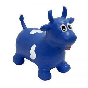 HappyHopperz - HHZ09 - Jouet de Premier Age - Taureau - Bleu - 18 mois à 5 ans de la marque HappyHopperz image 0 produit