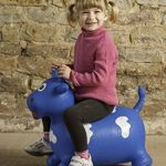 HappyHopperz - HHZ09 - Jouet de Premier Age - Taureau - Bleu - 18 mois à 5 ans de la marque HappyHopperz image 1 produit
