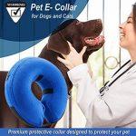 Homesupplier de protection gonflable pour animal domestique Collier pour chiens et chats, Vet-approved E Colliers de restauration, spécialement conçu pour empêcher les animaux à partir de rayures et piqûres d'à des blessures, mailles, des plaies et des Ér image 2 produit