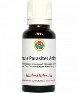 HuilesUtiles - La Formule Parasites Animaux - 20 ml de la marque image 0 produit