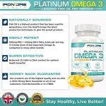 Iron Ore Health - Huile de poisson - 180 capsules de 2000 mg - 660 EPA + 440 DHA par prise de la marque Iron Ore Health image 1 produit