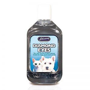 Johnson's Diamond Eyes Soin des yeux pour chien/chiot/chat/chaton Élimine les taches autour des yeux de la marque Johnsons-Veterinary-Products image 0 produit