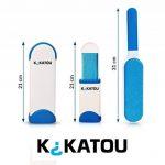 kikatou Brosse Anti Poil Autonettoyante Double Face - Facile à utiliser - OFFERT : Notice d'utilisation en PDF - Brosse Poils Animaux de compagnie pour enlever tous types de poils efficacement de la marque image 3 produit