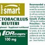 Lactobacillus reuteri 100mg - 60 gel veg - Probiotiques et Prébiotiques de la marque Supersmart image 1 produit