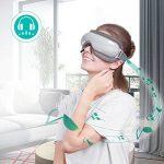 Naipo Masseur des Yeux Appareil de Massage Oculaire pour Relaxation des Yeux et Anti Migraine Anti Cerveau avec Musique Compression d'Air Fonction de Chauffage Domicile Voiture de la marque Naipo image 1 produit