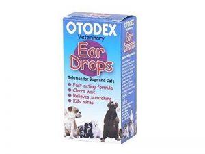 Otodex Ear Drops Lot de 2 flacons de soin d'oreille en gouttes pour chien 14 ml de la marque Otodex image 0 produit