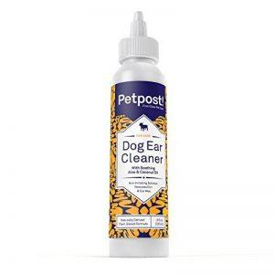 Petpost   Nettoyant d'oreilles pour chien - le meilleur remède anti-acariens et anti-cire - sans alcool ni médicaments - 8 once. de la marque Petpost image 0 produit