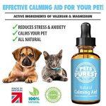 Pets Purest Supplément calmant normal d'aide de 100% pour des chiens, des chats et des animaux familiers. Réduit l'anxiété et le stress chez vos animaux de compagnie (50ml) de la marque Pets Purest image 3 produit