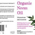 PINK SUN Huile de Neem Bio Pressée à Froid Vierge 250ml (Également disponible en 1 litre) Pure Organic Neem Oil - Cold Pressed Unrefined Concentrate de la marque PINK-SUN image 1 produit