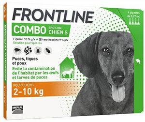 pipette antiparasitaire chien TOP 7 image 0 produit