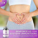 Probiotiques • 8 souches bactériennes dosées à 14 milliards d'UFC par gélule • Reconstitue et assainit le microbiote intestinal • 60 gélules végétales • Fabriqué en France par Kiyo Nutrition ® de la marque Kiyo Nutrition image 4 produit