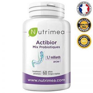 Probiotiques ACTIBIOR ♦️ Fortement Dosés 80 Milliards de Bactéries Multisouches soit 5,7 Milliards UFC (les Vraies Bactéries Actives) ♦️ Conseillé avec toutes prises d'antibiotiques ♦️ 60 gélules végétales️ gastro-résistantes ♦️ Fabrication Française♦️ Sa image 0 produit