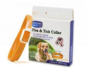 Puces et Tiques Collier pour tous les types de chiens et chats Naturel Huile Essentielle Commercial de la marque JUNMO image 0 produit