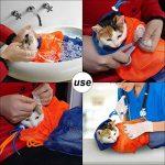 Sac réglable de bain d'animal familier de sac de toilettage de chat réglable pour l'injection d'ongle d'injection de la marque Zantec image 2 produit