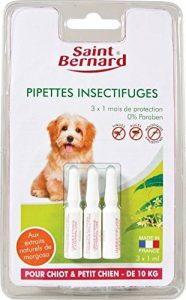 SAINT BERNARD Pipettes ISF pour Chiot/Petit Chien 10 kg de la marque SAINT BERNARD image 0 produit