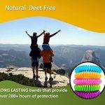 Speical Offre anti-moustiques Bracelets jusqu'à 300 hours-botanical - Lot de 14 - Tous les naturel, sans DEET et imperméable Bandes pour adultes et enfants de la marque FabQuality image 3 produit