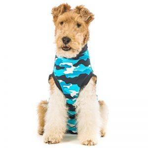 Suitical restauration pour chien, petite, Bleu camouflage de la marque Suitical image 0 produit