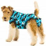 Suitical restauration pour chien, petite, Bleu camouflage de la marque Suitical image 1 produit