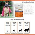 Supplément articulaire FlexiK9 pour chiens Glucosamine et Green Shell (120 comprimés à croquer) de la marque Simply Pets Online image 2 produit