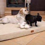 tierlando os4-ll-03 Oscar ortho-medic de luxe MATELAS ORTHOPÉDIQUE VISCO lit pour chien taille L 100cm – cuir artificiel noir de la marque tierlando image 4 produit