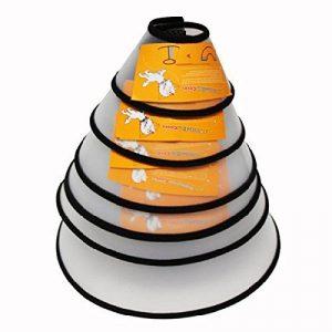 UEETEK Collerette Chien Chat Collier Cône (Cou Taille: 18-20cm) de la marque UEETEK image 0 produit