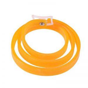 UEETEK Collier Antiparasitaire Colliers anti-puces et tiques pour chiens chats chiots (Orange) de la marque UEETEK image 0 produit