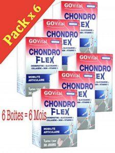 Urgo GOVital - Chondro Flex chondroitine glucosamine collagène MSM Vit C - SIX MOIS DE TRAITEMENT - Lot de 6 boites de la marque Urgo image 0 produit