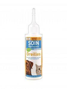 Vetoform Soin Nettoyant Oreilles Chien et Chat 100 ml de la marque Vetoform image 0 produit